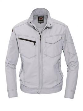 BUR5101 ジャケット シルバー