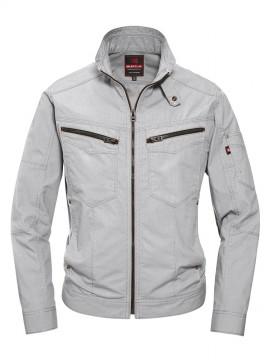 BUR5511 ジャケット(ユニセックス) シルバー