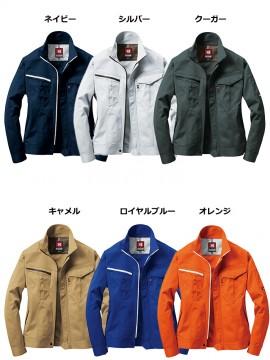 BUR6081 ジャケット(ユニセックス)カラー一覧