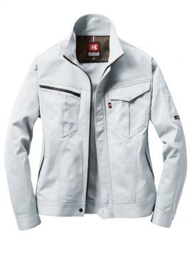 BUR6081 ジャケット(ユニセックス) シルバー