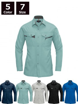 BUR7063 長袖シャツ 2