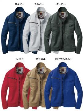 BUR7091 ジャケット(ユニセックス) カラー一覧
