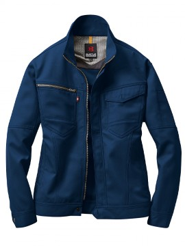 BUR7091 ジャケット(ユニセックス) ロイヤルブルー