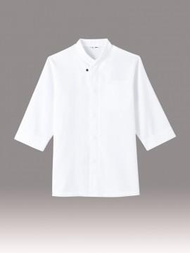 ARB-AS8203 和風シャツ(男女兼用) 白