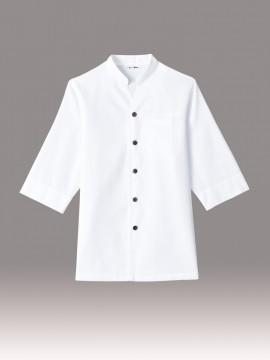 ARB-AS8204 和風シャツ(男女兼用) 白