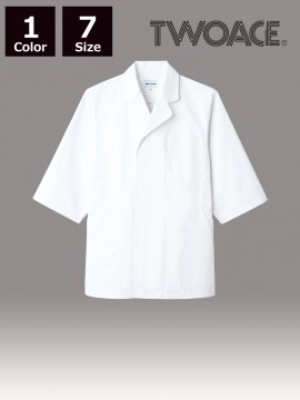 ARB-AS8017 白衣(七分袖)