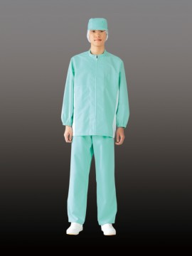 CK8481 ブルゾン(男女兼用・長袖) 着用