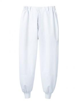 RS7701 パンツ(男女兼用・ノータック・両脇ゴム) 拡大画像
