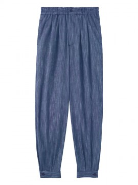 ARB-AS8201 和風パンツ(男女兼用) 紺