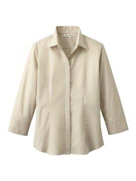ARB-EP7736 シャツ(レディス・七分袖) ベージュ