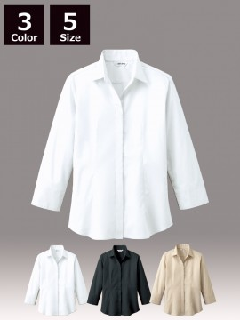 ARB-EP7736 シャツ(レディス・七分袖)