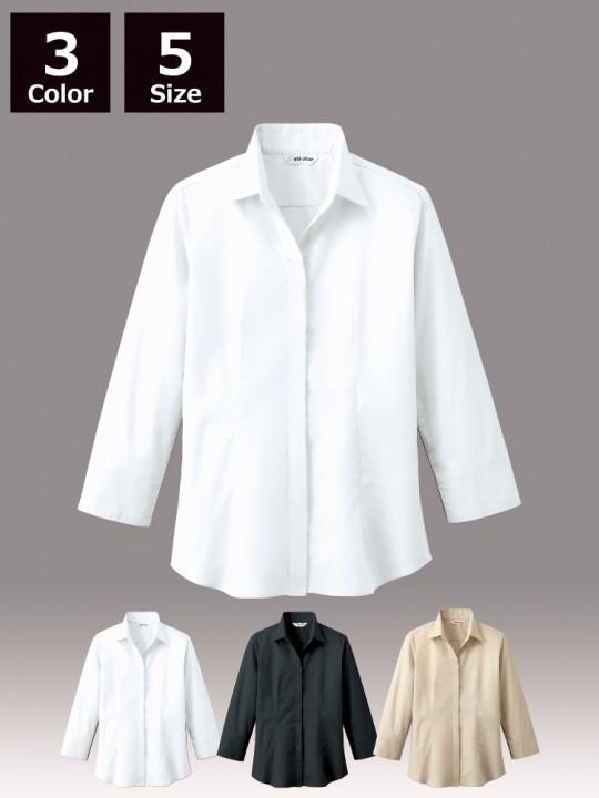 シャツ(レディス・七分袖)