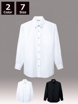 ARB-EP7921 ボタンダウンシャツ(男女兼用・長袖)