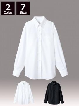 ARB-EP8059 ボタンダウンシャツ(男女兼用・長袖)