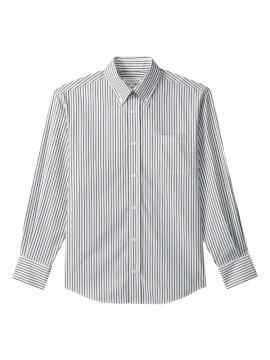 ARB-EP8241 ボタンダウンシャツ(男女兼用・長袖) 拡大画像