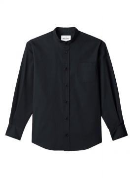 ARB-EP8239 スタンドカラーシャツ(男女兼用・長袖) 拡大画像