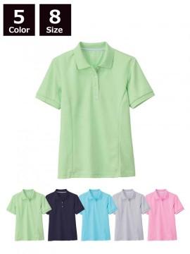 XB6000 レディス半袖ポロシャツ  全体図