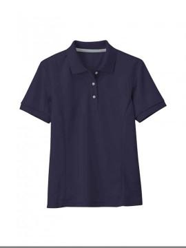 XB6000 レディス半袖ポロシャツ  拡大図