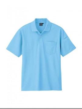 XB6020 カノコ半袖ポロシャツ 拡大図
