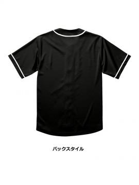 CB-1445 4.4オンス ドライ ベースボールシャツ バックスタイル