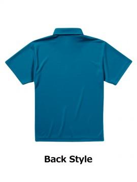 CB-5920 4.1オンス ドライアスレチック ポロシャツ(ボタンダウン) バックスタイル
