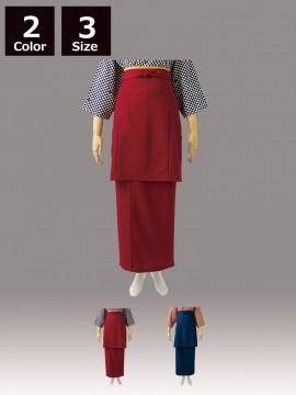 CK-7441 和風ラップスカート(レディス・腰ヒモ式)商品一覧