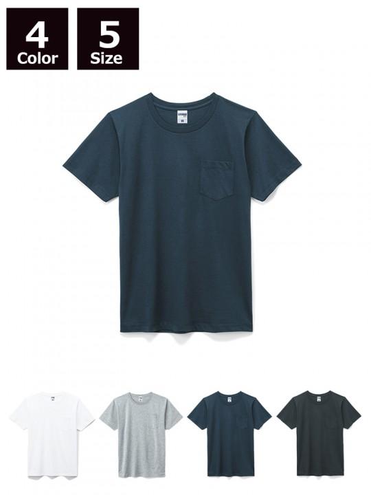 5.3オンスユーロポケット付きTシャツ