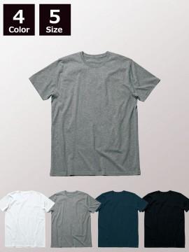 4.3ozオーガニックコットンクルーネックTシャツ