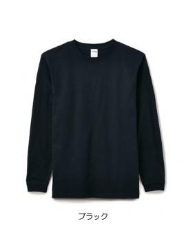 BM-MS1607 6.2オンスヘビーウェイトロングスリーブTシャツ(カラー) 拡大画像 ブラック
