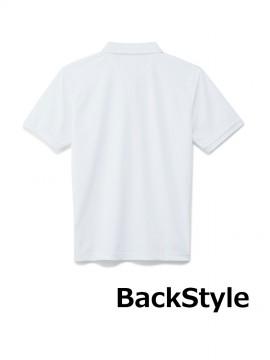 BM-MS3118 4.6オンスポロシャツ バックスタイル