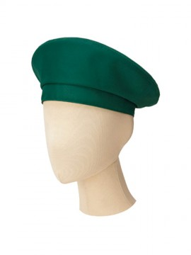 BM-FA9673 ベレー帽 拡大画像 グリーン