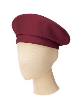 BM-FA9673 ベレー帽 拡大画像 ワイン