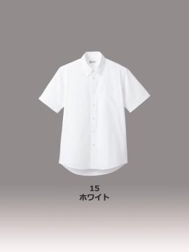 ブロードレギュラーカラー半袖シャツ