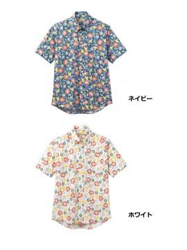 BM-FB4540U アロハシャツ(花柄)カラー一覧