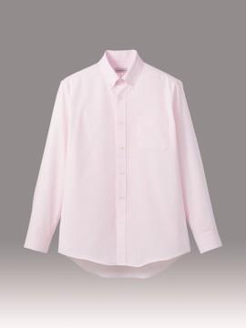 BM-FB5035M 吸水速乾メンズ長袖シャツ 拡大画像 ピンク