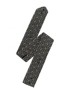 BM-FA9320 和衿ニットシャツ替え前立て 拡大画像 紗綾形
