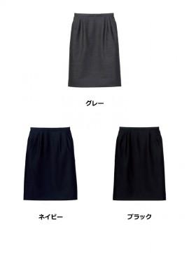 FS2003L レディスストレッチスカート カラー一覧 グレー ネイビー ブラック