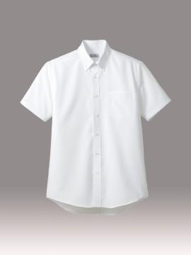 BM-FB5036M 吸水速乾メンズ半袖シャツ 拡大画像 ホワイト