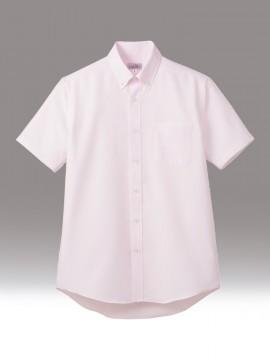 BM-FB5036M 吸水速乾メンズ半袖シャツ 拡大画像 ピンク
