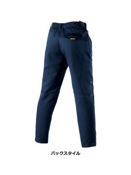 7112 防寒パンツ バックスタイル