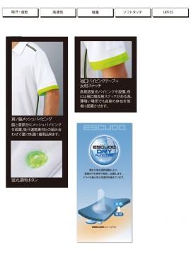 OD-01627 半袖ポロシャツ 機能紹介詳細