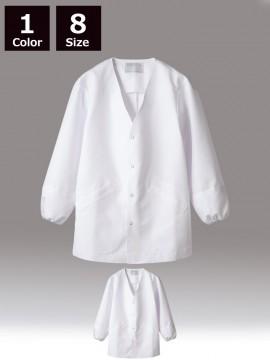 CK-1551 調理衣(長袖・袖口ネット) 商品画像