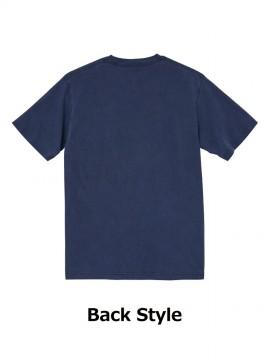 CB-5020 5.6オンス ピグメントダイ Tシャツ バックスタイル