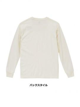 5.6oz ピグメントダイ Tシャツ(ポケット付き)バックスタイル
