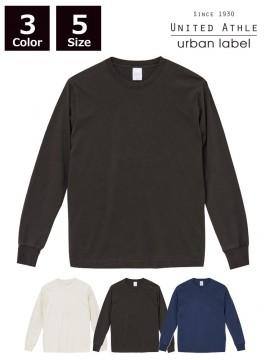 5.6oz ピグメントダイ ロングスリーブTシャツ