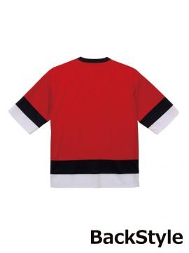 4.1oz ドライホッケーTシャツ バックスタイル