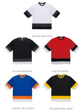 4.1oz ドライホッケーTシャツ イメージ