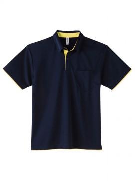 WE-00315-AYB 4.4oz ドライレイヤードボタンダウンポロシャツ 拡大画像