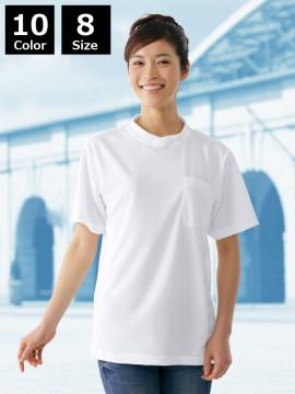 JC-47684 吸汗速乾半袖Tシャツ