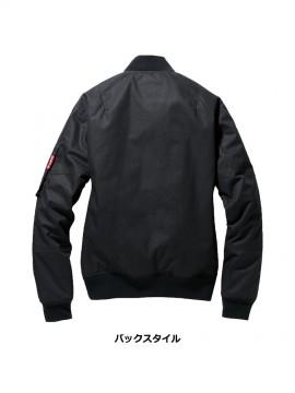 5260 フライト防寒ジャケット(ユニセックス) バックスタイル